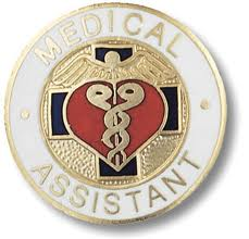 Stamp for a medical assistant