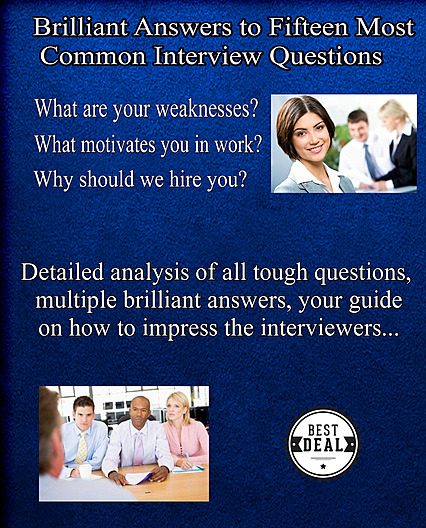 fifteen most common interview questions and answers free gift ebook - Medical Assistant Interview Questions And Answers